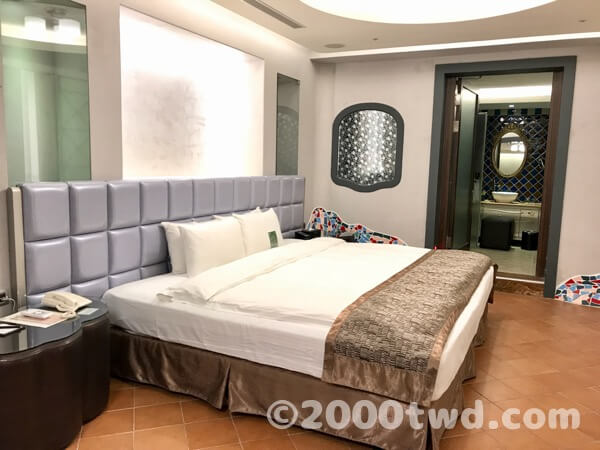 ベッレッツァ 台北 ホテル 室内写真