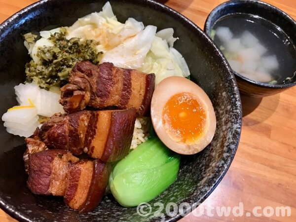 懐かしいおばあちゃんの味焼き肉ご飯・本日のスープ一品(2名様コース)