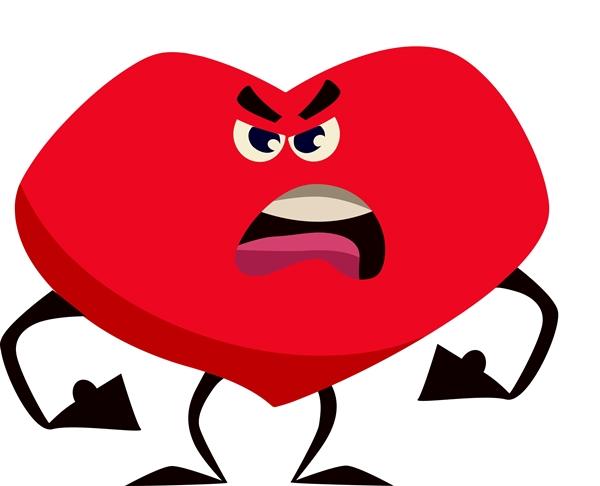 暴れる心臓