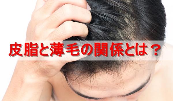 男性の毛髪