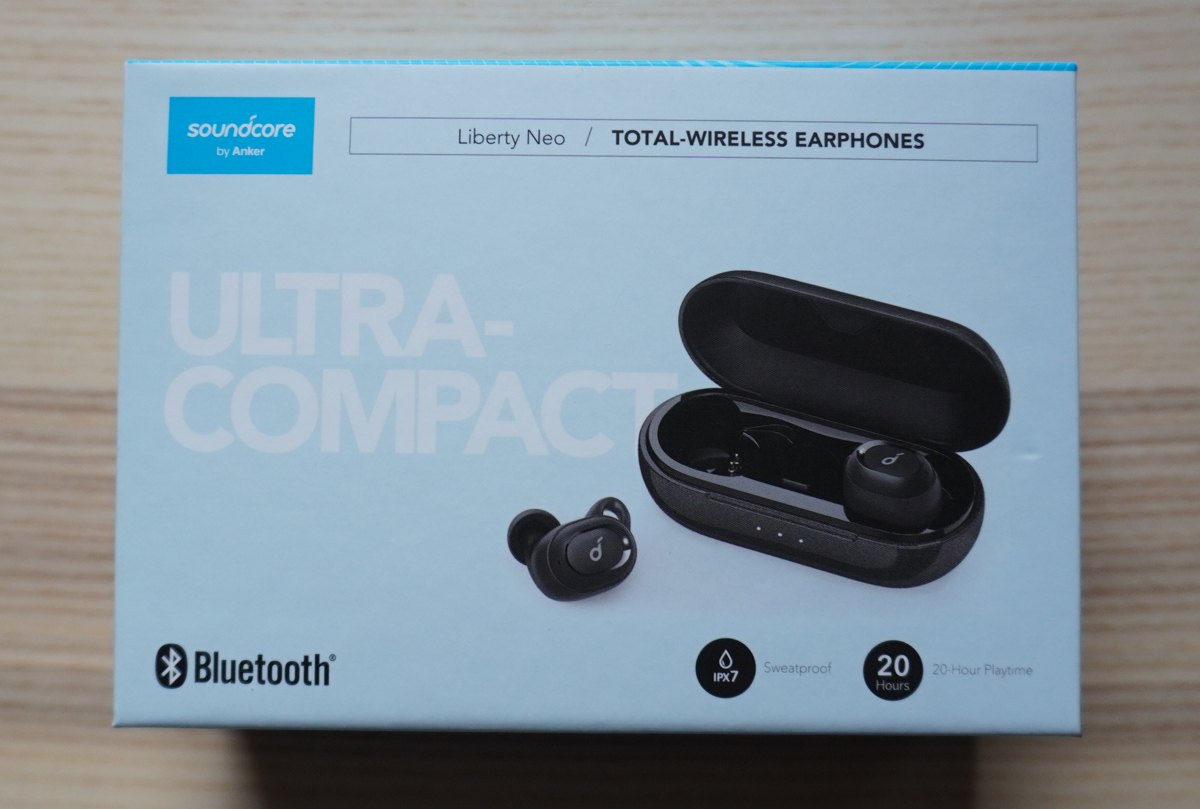Anker Soundcore Liberty Neo パッケージ