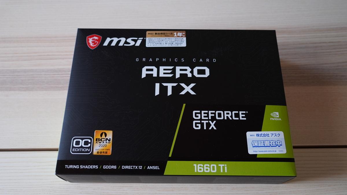 MSI GeForce GTX 1660 Ti AERO ITX 6G OC