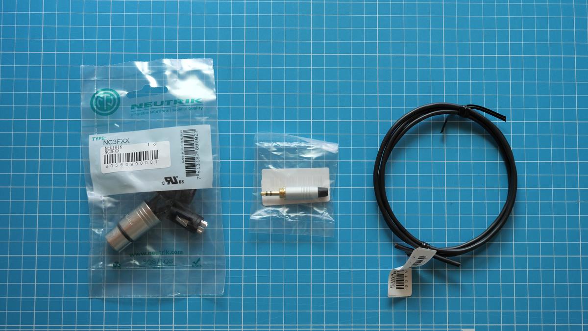 MKE600 マイクケーブル自作