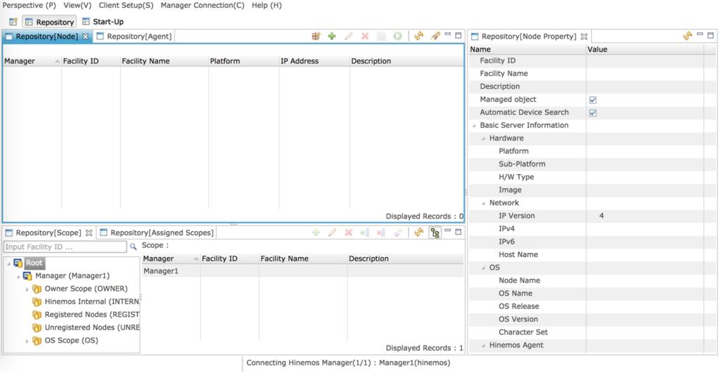 DockerでHinemosをインストールする (初期構築) - designetwork