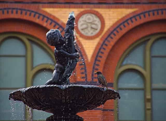 スミソニアン博物館の彫像