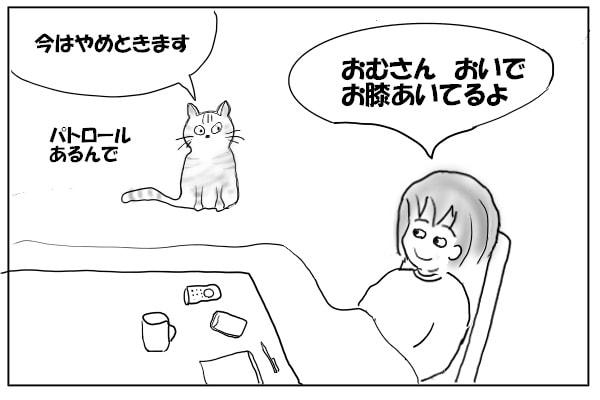 猫を呼ぶ女