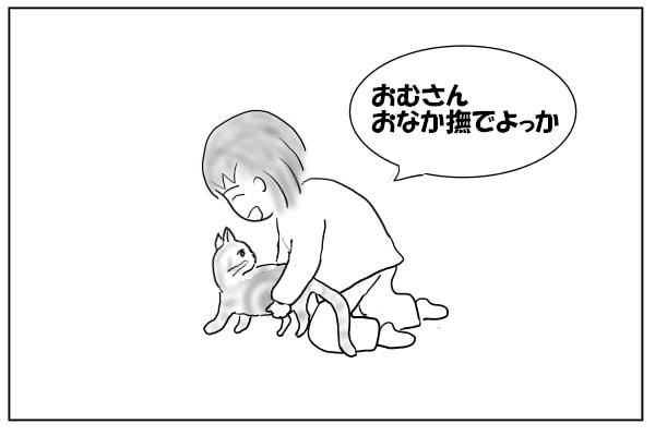 四つん這いの猫