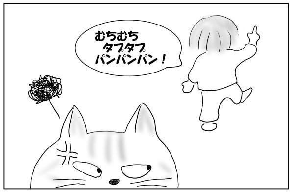 ムカつく猫