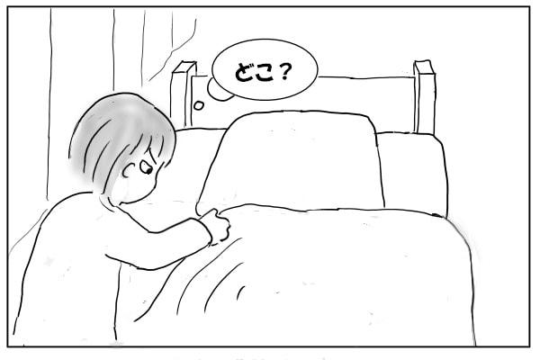 ベッドを探す