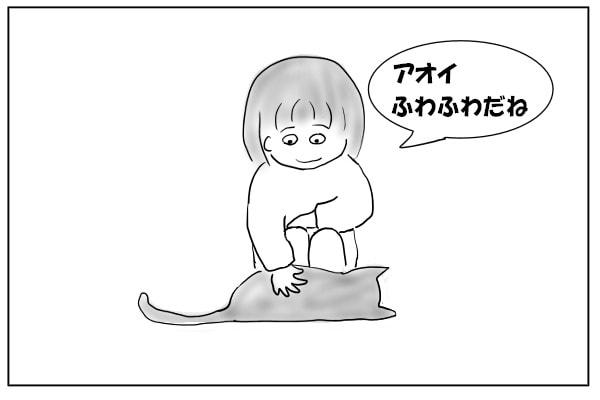 ふわふわの猫