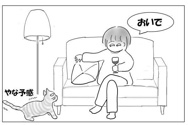 ワインと猫と女