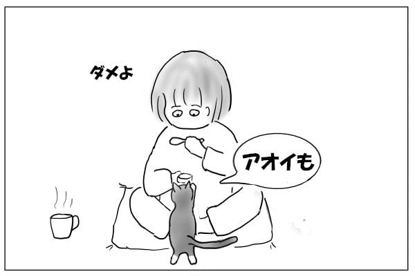 欲しがる猫
