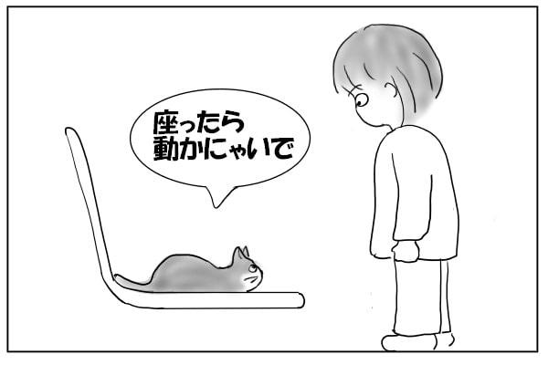 具体的条件を述べる猫