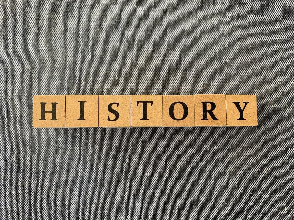 HISTORYの木のブロック