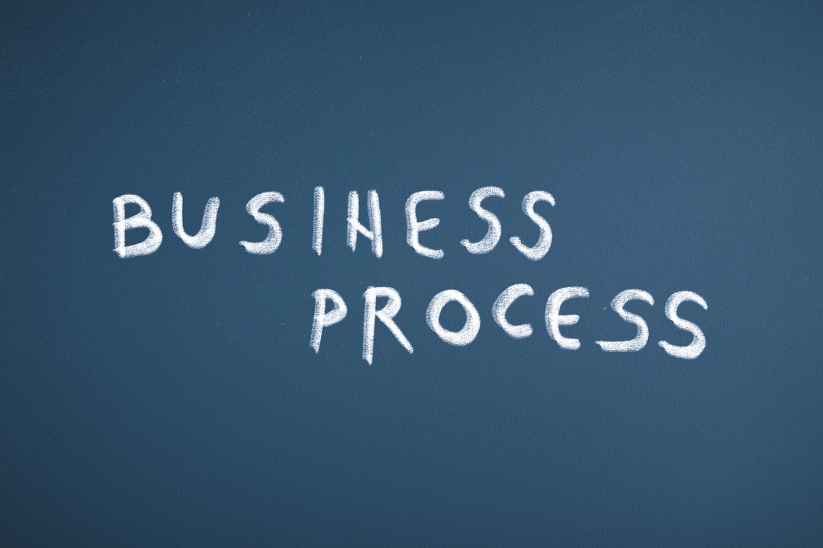 BUSINESS PROCESSの文字
