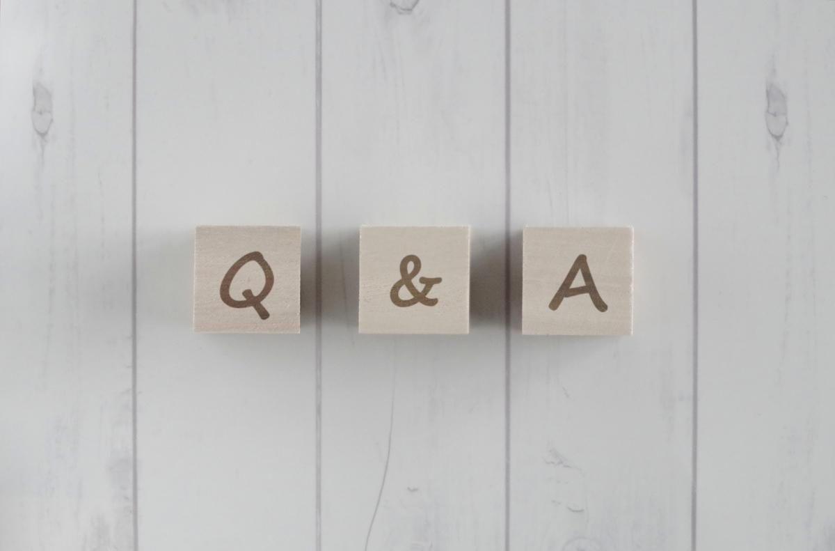 Q&Aのブロック