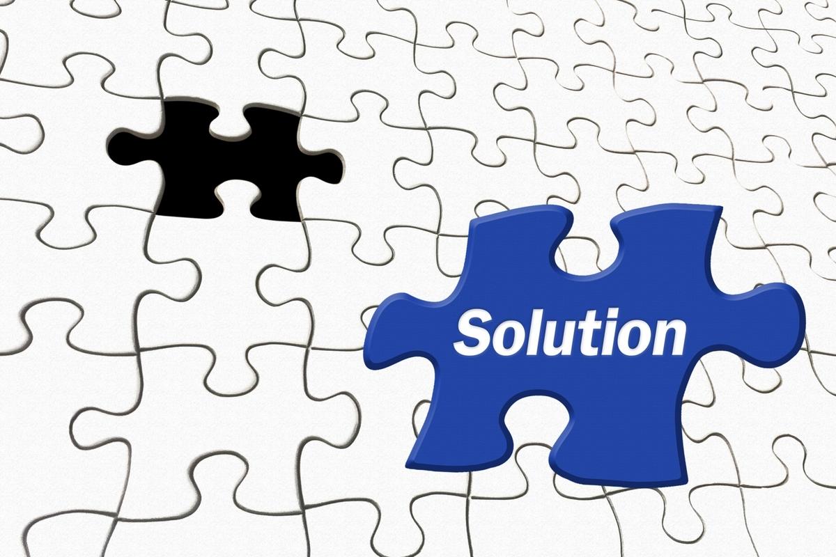 Solutionのジグソーパズル