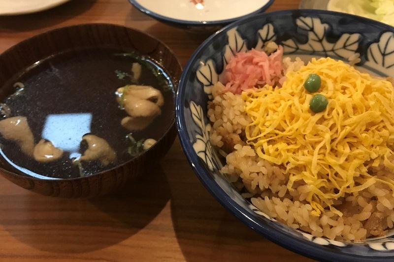 とりめし&スープ
