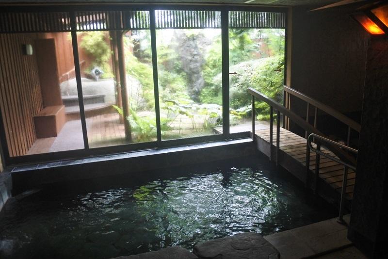 地蔵川の温泉