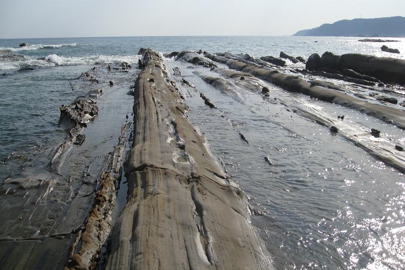 竜串海岸遊歩道から見た大竹小竹