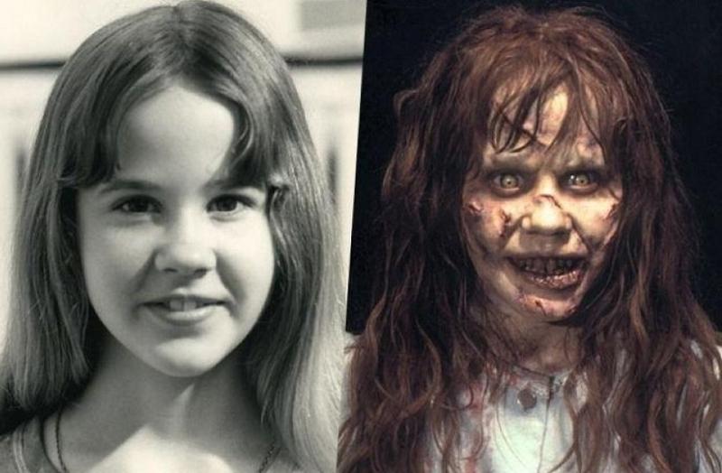 子役リンダ・ブレアのメイク前後比較
