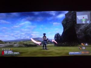 PSP:S端子出力/ゲーム画面