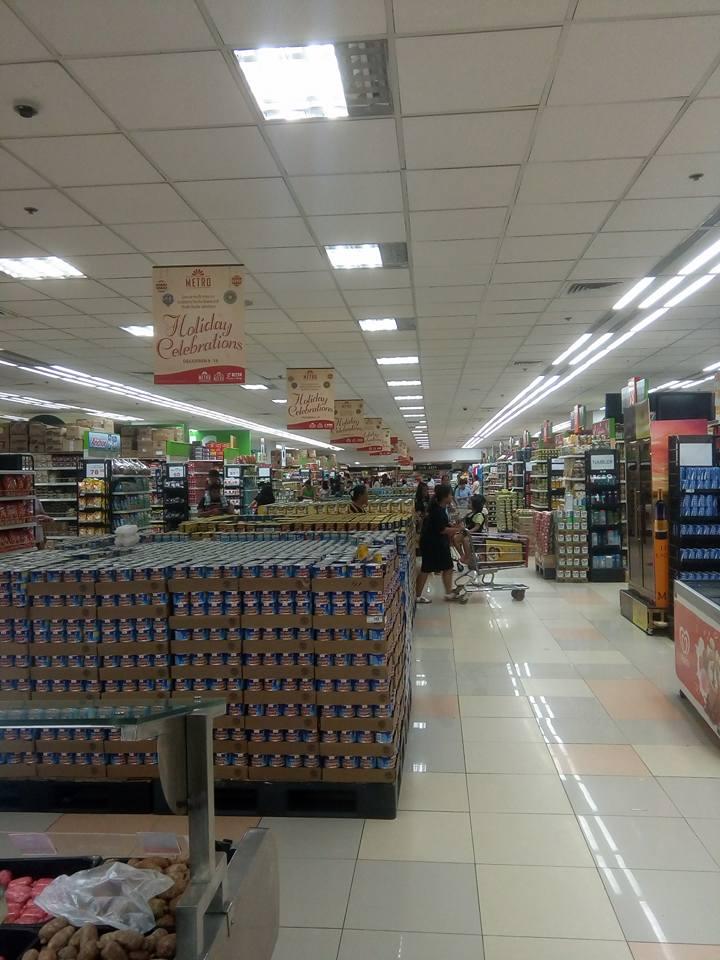 アヤラモールのスーパー
