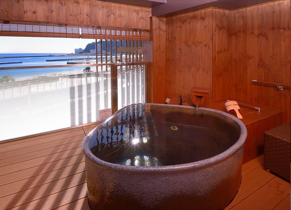 貸切露天風呂の写真