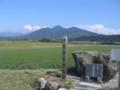 円仁の礼拝石から見た大山