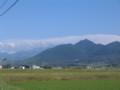 大山と孝霊山