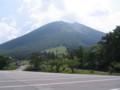 枡水原駐車場から見た大山
