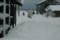超大雪の正月