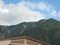 大山山頂付近