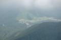 三鈷峰から豪円山を見る