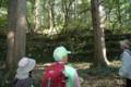 [おひろめウオーク研修]西楽院跡・神社側の石垣