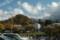 駐車場屋上から三鈷峰