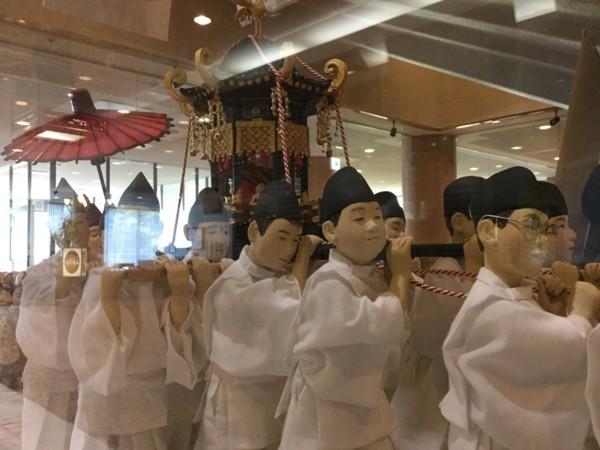 大山御幸行列人形