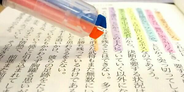 コクヨ 2色蛍光マーカー ビートルティップ・デュアルカラー4