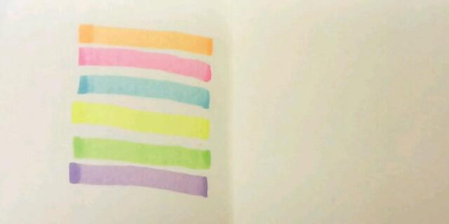 コクヨ 2色蛍光マーカー ビートルティップ・デュアルカラー7