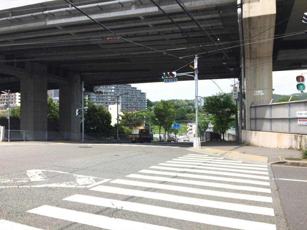 阪神高速31号神戸山手線高架下