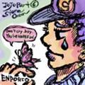 エンポリオ少年と新世界の蝶々。