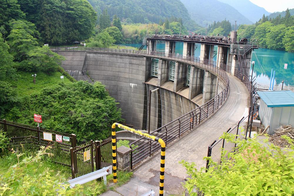 イメージ:中之条ダム
