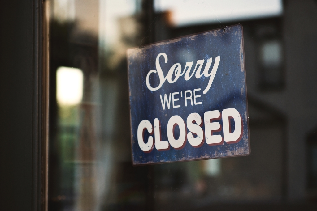 情報の更新がないお店は閉店していると思われる可能性がある。