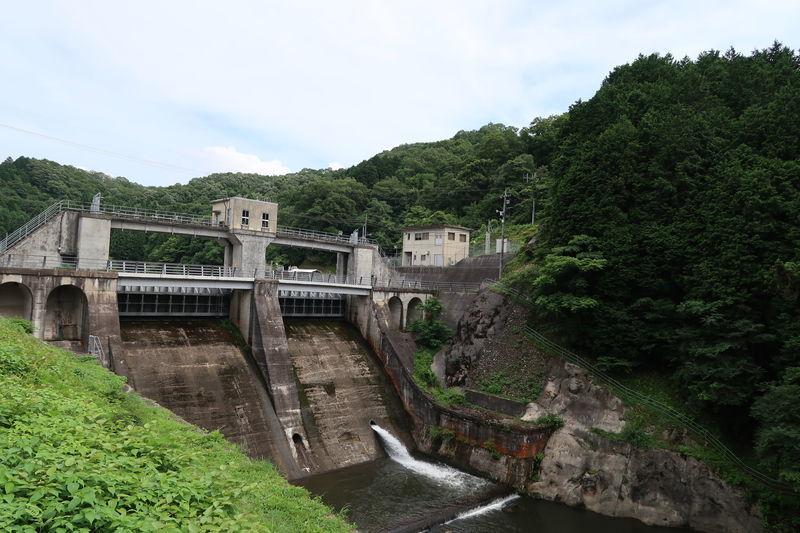 阿井川ダムゲート