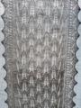 ハープサルレース編み、ライラックリーフ柄