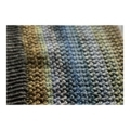 アフガン編みの編み地