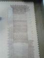 シェトランドレース編み 仕上げの工程