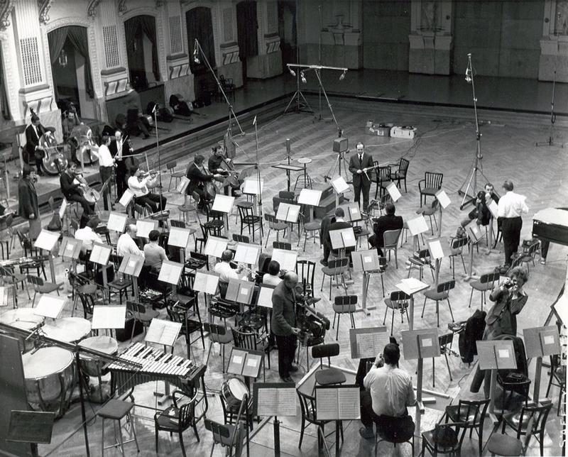 1970年代始めのソフィエンザールでのセッション写真。