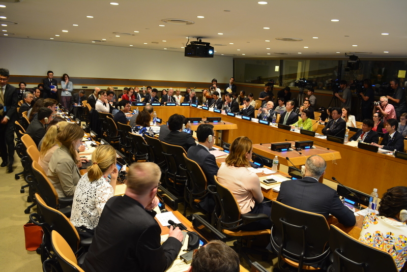 Symposium on Possible ways of international cooperation to urge North Korea to take concrete actions to improve the human rights situation in North Korea, including in the abductions issue