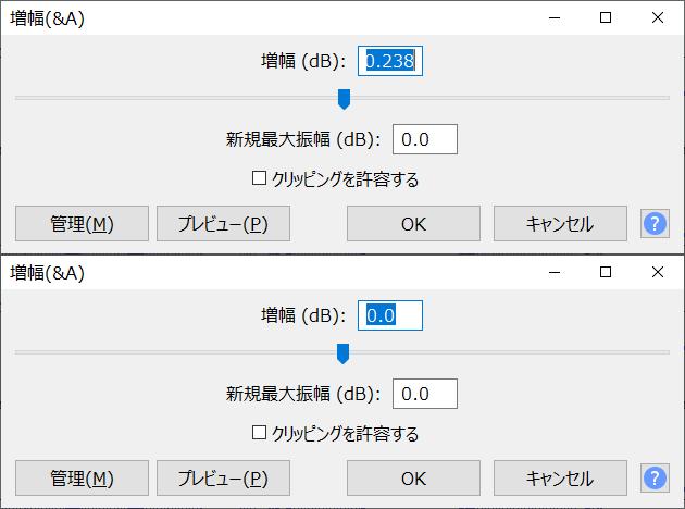 図3 、入/出力(webm)ファイル最大レベル(サンプル No. 06)